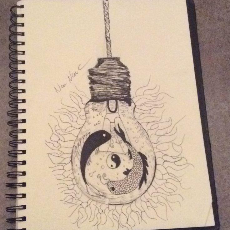 Représentation du ying yang