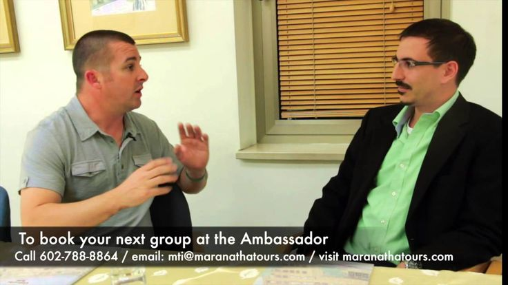 In this episode we talk about what type of hotels you will be staying at while touring. From Israel to Turkey the hotels MaranathaTours.com uses are first to deluxe hotels. We also get to see a glimpse into the best hotel in Jerusalem the Ambassador Hotel.