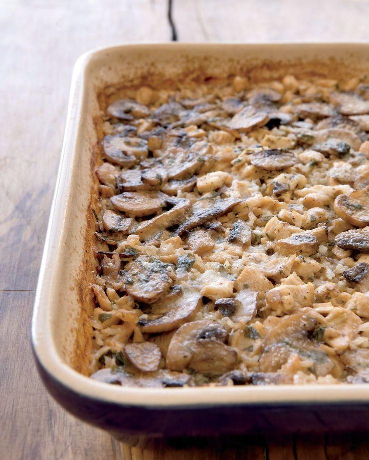 Marsala Chicken-and-Mushroom Casserole | Rachael Ray Every Day