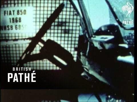 Car Crash Experiments (1970-1971)