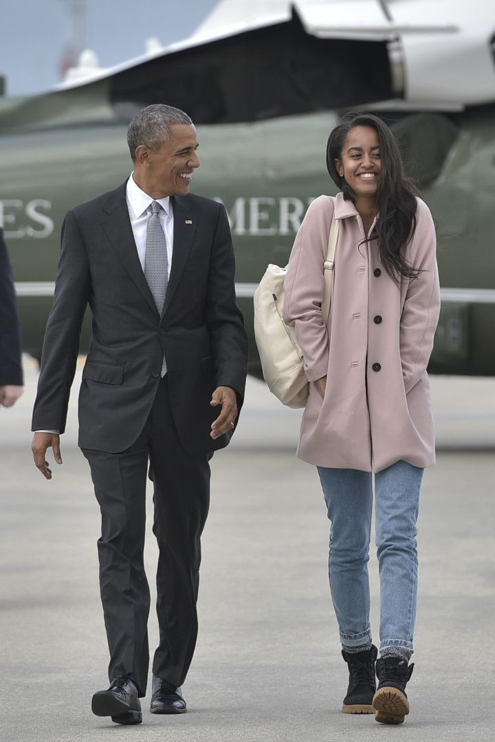 Malia Obama Wears the 1 Coat You Need to Top Off All Your Casual Spring Looks