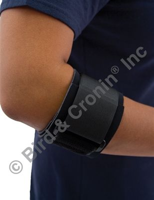 The Volley Tennis Elbow Support is designed to help symptoms assoicated with tendinitis, inflammation of the tendons that cause pain in the elbow and arm