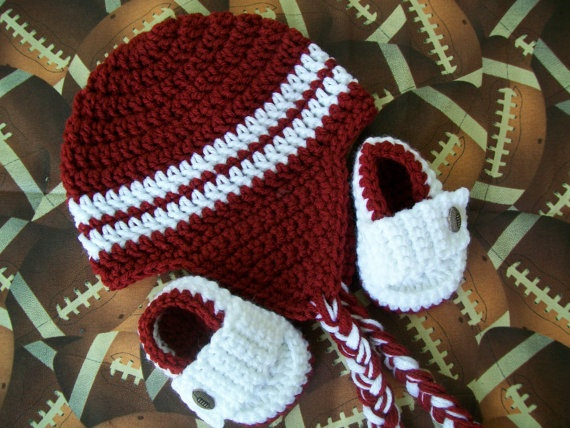 OU baby hat and shoes!!!Oklahoma Sooners, Pigs Sooie, Booty Sets, Baby Projects, Baby Hats, Precious Sets, Crochet Knits, Baby Stuff, Alabama Hats