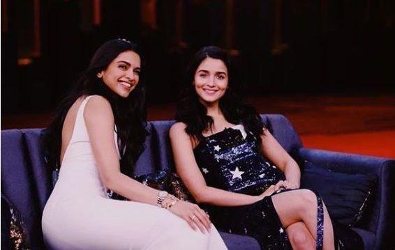 Missed Watching Deepika Padukone And Alia Bhatt On Couch Here S How To Watch Repeat Telecast Koffee With Karan Season Koffee With Karan Alia Bhatt Karan Johar