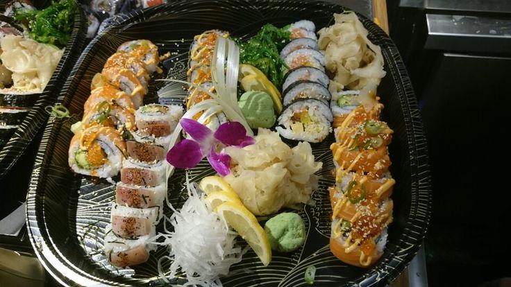 Sushi at work, ;-)