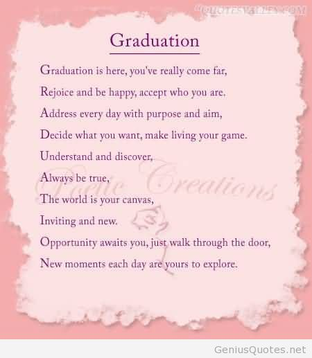 graduation sayings   Graduation quotes for college or else