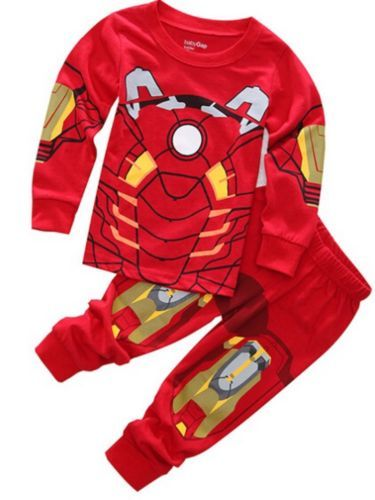 a37113c214 Sleepwear 147336  Boys Iron Man Civil War Toddler Pajamas 2 Piece Set. Avengers  Sleepwear -  BUY IT NOW ONLY   15 on  eBay  sleepwear  civil  toddler ...