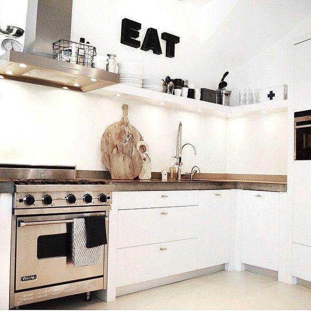 17+ ideeën over Keuken Plank Decor op Pinterest - Rustiek keuken ...