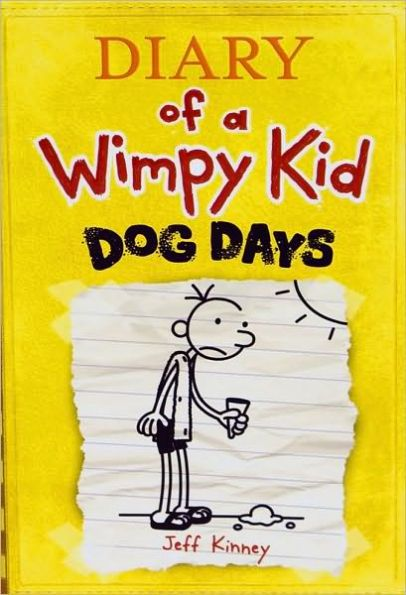 ✅a book about summer: Greg wants to enjoy his summer, but a misunderstanding with Rowley, a failed attempt at wooing a hot lifeguard, a Reading club with his mom, and a lack of affection with dad all make for an interesting time at best. His family tries to get a dog and fails, but they learned from it in the end. Dog Days (Diary of a Wimpy Kid Series #4)