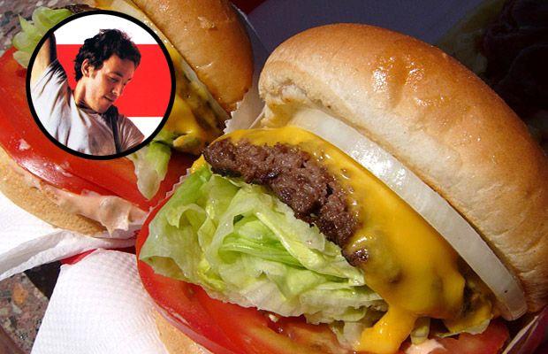 """Born in the U.S.A."" Cheeseburger"
