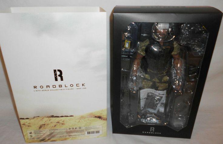 "Hot Toys G.I. Joe Retaliation Dwayne Johson The Rock Roadblock 1/6 12"" Figure"
