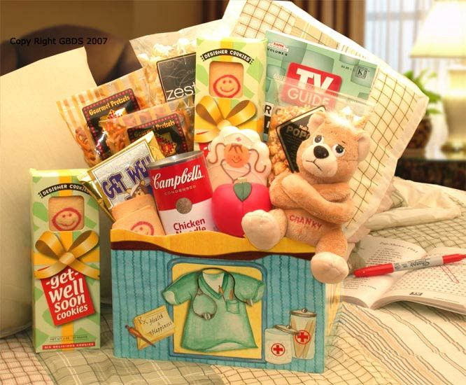 10 best get well gift baskets images on pinterest gift basket health happiness get well gift box solutioingenieria Images