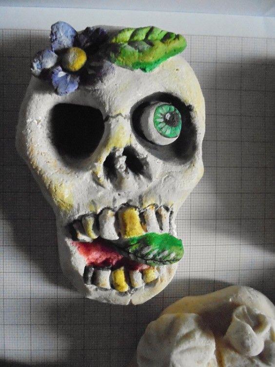 Skull...salzteig...