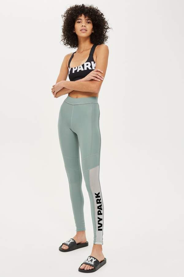 1e5ae47055413d Sheer Flock Logo Leggings #active#legging#sheer | home diy | Ivy ...