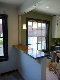 25 Best Ideas About Half Walls On Pinterest Half Wall Kitchen Live Edge Wood And Real Wood