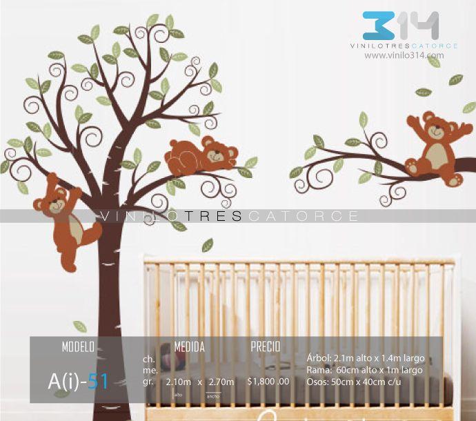 Vinilos decorativos rboles infantiles sticker decorativo for Vinilos decorativos infantiles para pared