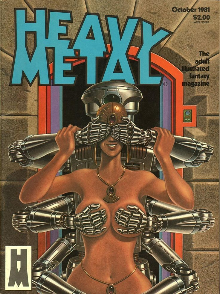 Heavy Metal October 1981 - EphemeraForever.com