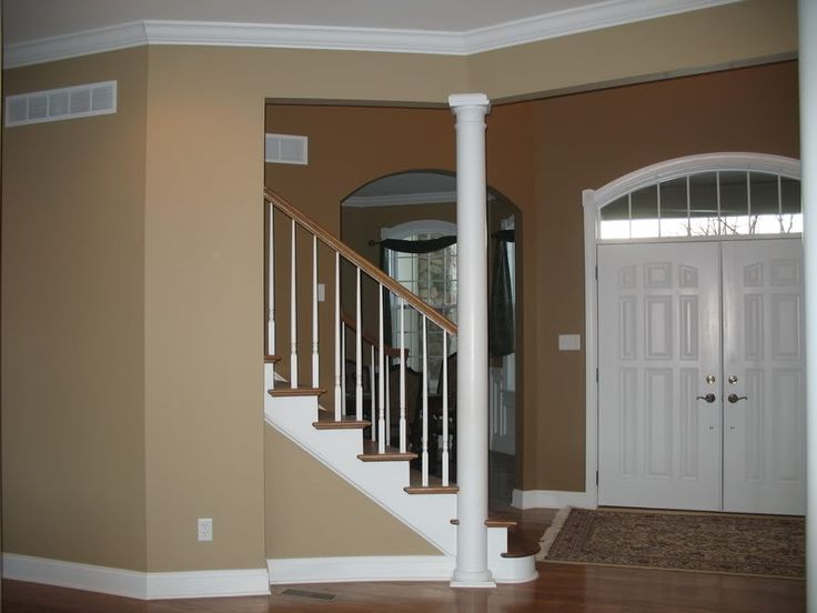 LOVE THIS LATTE COLORED PAINT BY SHERWIN WILLIAMS This is what my living room will look like when I get finished!