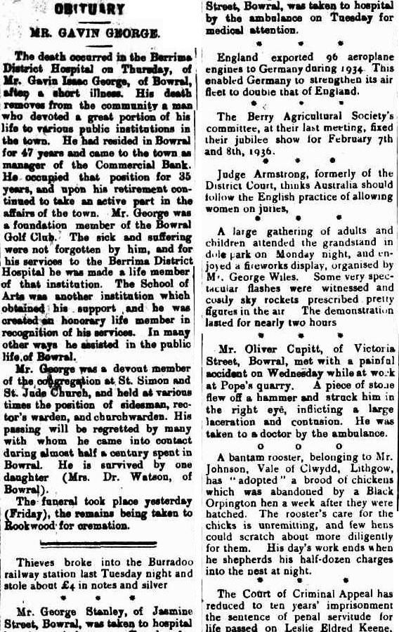 Scrutineer and Berrima District Press (NSW : 1892 - 1948), Saturday 11 May 1935, page 2
