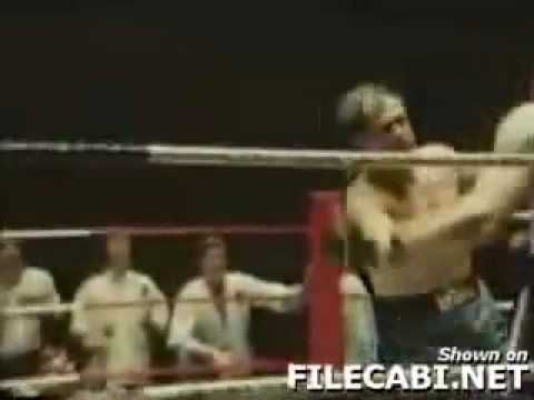 Lenny McLean Vs Roy Shaw. Third fight. Apparently there is no video of their first encounter.