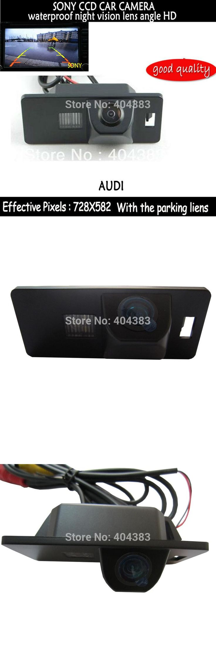 [Visit to Buy] Free Shipping!!SONY CCD Chip CAR REAR VIEW CAMERA Reverse With Guide Line CAMERA FOR  AUDI A1 A4 (B8) A5 S5 Q5 TT/ PASSAT R36 5D #Advertisement