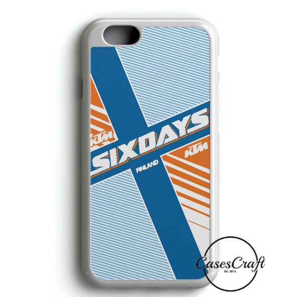 Ktm Motorcycle Six Days Finland Mx iPhone 6/6S Case | casescraft