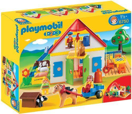 Maybe instead of Little People?  $58  PLAYMOBIL 1.2.3 Large Farm PLAYMOBIL®,http://www.amazon.com/dp/B001OBO6V8/ref=cm_sw_r_pi_dp_WVautb1NYQKQCE1V