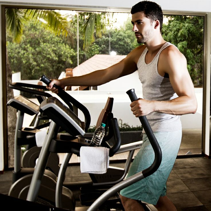 Maintain fitness even while on Vacation with a view overlooking the beautiful gardens #Luxury #Health #Goa