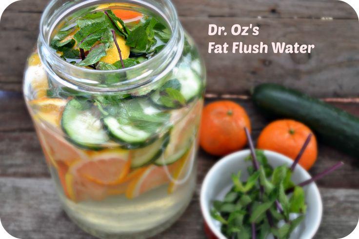 Dr. Oz Fat Flush Water Recipe