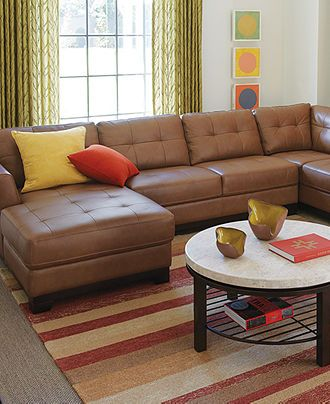 1000 Images About Sectional Sofas On Pinterest Leather