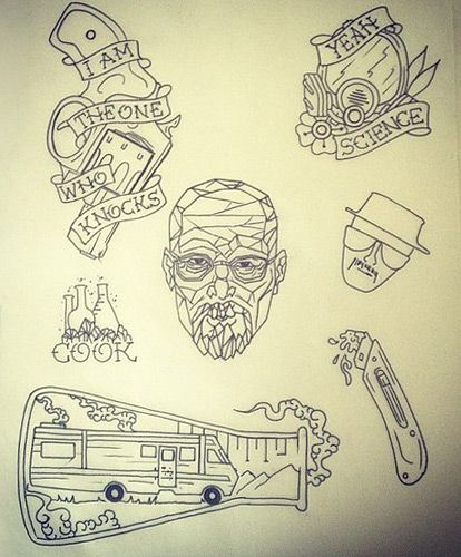 A Breaking Bad tattoo is in my very near future. Yay! :)