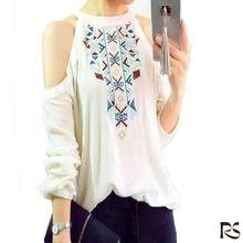 2015 embellished new western latest fashion chiffon blouse designs