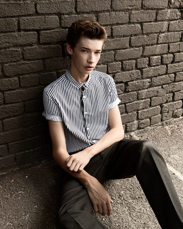 + [1/6] Jacob Lofland photoshoot for the Interview Magazine! (HD) – #JacobLofland #ScorchTrials