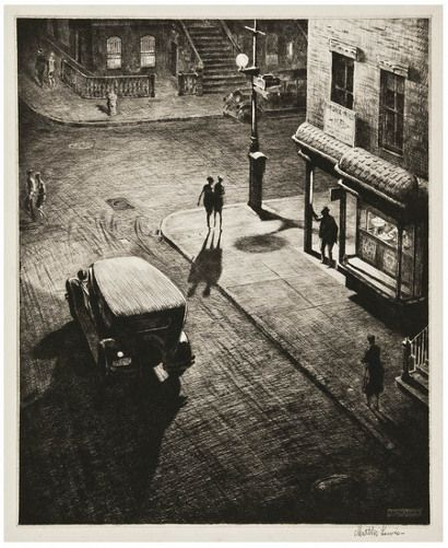 Edward Hopper drawings