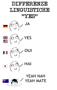 Differenze Linguistiche - yes... lol.