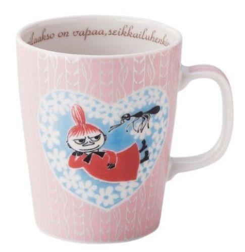 Yamaka Moomin Valley Mii Little My Big Mug Cup Made in Japan New