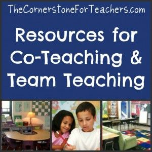 Co-teaching and team teaching resources: A quick guide on co-teaching made by teachers who have done it in their classrooms.