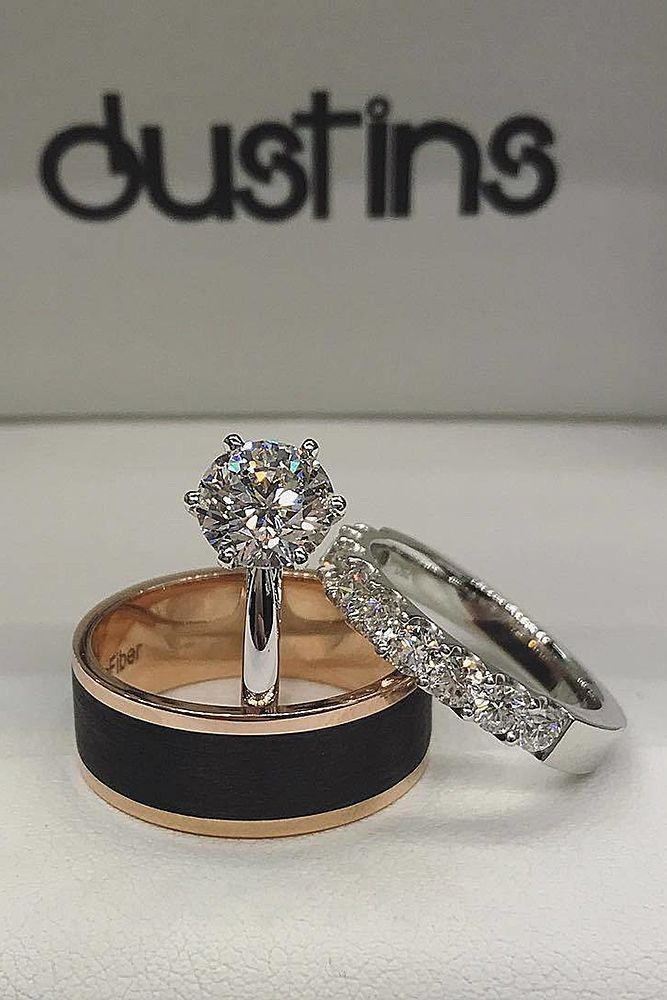 Engagement Ring That Was Created For A Special Bride White Gold Round