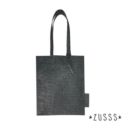 Zusss l Tas kroko staalgrijs l http://www.zusss.nl/product/tas-kroko-staalgrijs/
