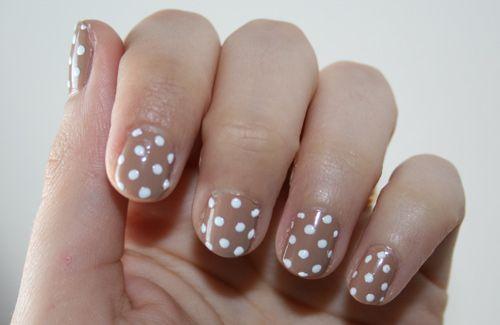Polka dot nailsNails Art Ideas, Nails Design, Shorts Nails, Polka Dots Nails, Dots Nails Art, Nails Ideas, Nails Art Design, Polka Dot Nails, Nail Art
