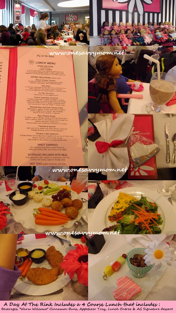 American Girl Day At The Rink At Rockefeller Center Included Lunkch In The Beautiful Cafe In New York City