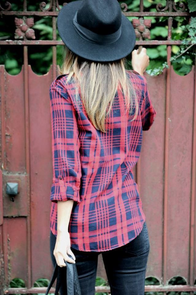 fall is for #flannels #fallfashion