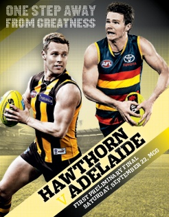 The football world has Hawthorn a near-certainty to win this preliminary final clash, and with good reason... (Mark Macgugan and Harry Thring for afl.com.au)