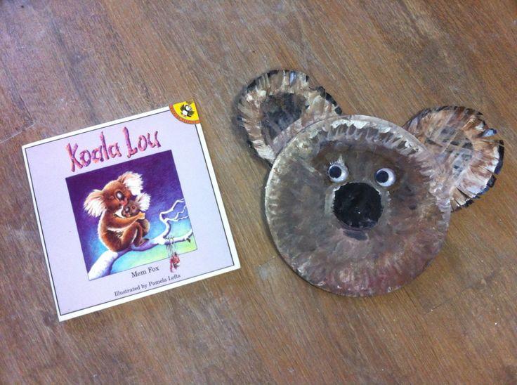 Koala Lou Storytime Craft