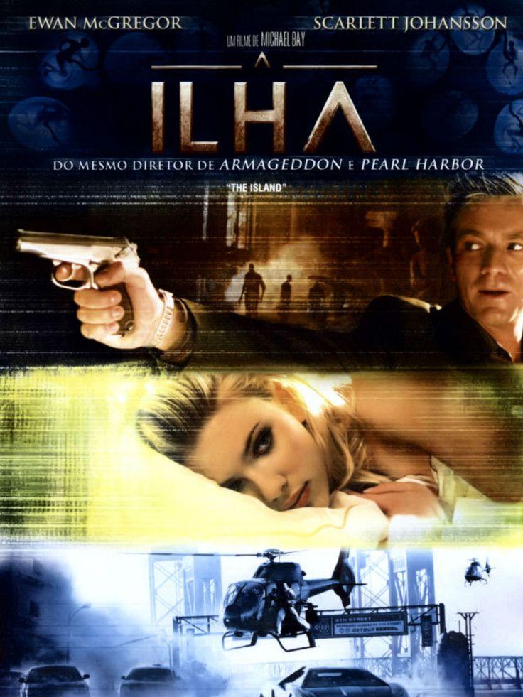 Filme de ficção científica, de Michael Bay com Ewan McGregor, Scarlett Johansson. Problematiza o uso de clones para tratamentos de saúde.