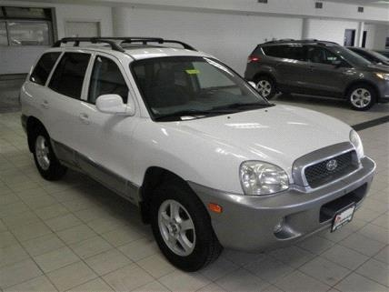 2004 Hyundai Santa Fe GLS - Shakopee, MN 55379   CarSoup.com