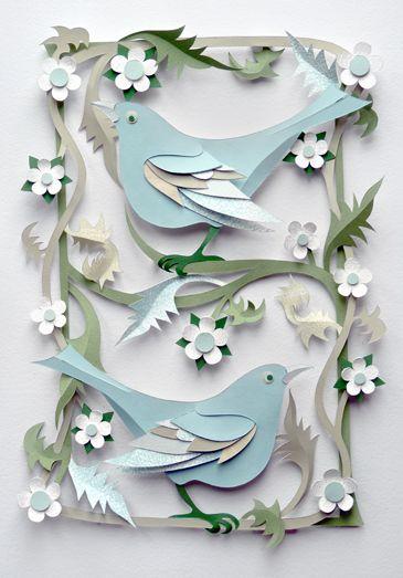 Helen Musselwhite - Bluebirds