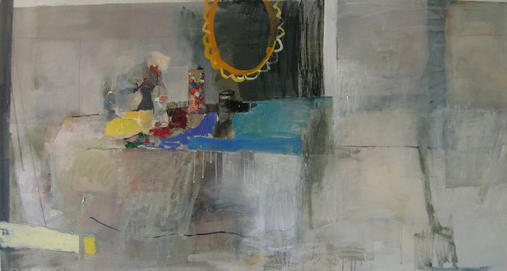 inheritance and deeds oil on canvas 2.3m x 1.2m Odette Marais