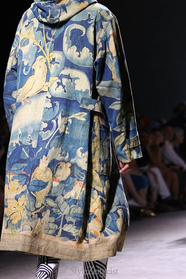 Dries Van Noten SS17 menswear collection, Paris