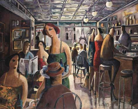 Didier Lourenco  ~ Bar In New York